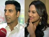 Which IPL Teams are Akshay and Sonakshi Supporting?