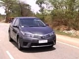 New Corolla Altis Drives In