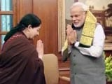 Video : 'Will See if the Need Arises': Jayalalithaa on Supporting NDA