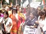 Video : BJP Confronts Congress Protesters Over Minister Accused of Rape