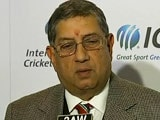 N Srinivasan Becomes Chairman of ICC