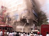 In Bangalore, Gold Flung Out in Plastic Bags After Fire in Jewellery Store