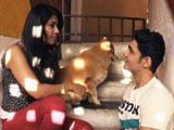 Ankita Bhargava Celebrates her Animal Love With Heavy Petting