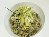 Green Chilly and Raw Mango Risotto