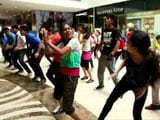 Video : NDTV Prime Flash Mob Enthralls Delhiites