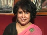 Video : Watch: Very Happy, Says Taslima Nasreen After India Grants Her Residential Visa