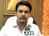 Selectors' Decision to See if Dhoni Remains Captain: Anurag Thakur