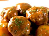 Soy and Potato Meat Balls