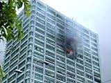 Video : कोलकाता की एक बिल्डिंग में लगी आग