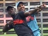 Usain Bolt Faces Off Against Yuvraj Singh