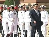 Videos : राष्ट्रपति भवन में शी चिनफिंग को दिया गया 'गार्ड ऑफ ऑनर'