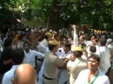 Video : Youth Congress Protest Against Modi Government Turns Violent