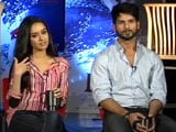 Video: An All New Shahid and an Intimidated Shraddha Helm Haider