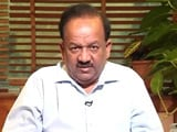 Video: Health Minister Dr. Harsh Vardhan's Message In Support Of The Swachh Express