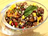 Barley and Red Rice Salad
