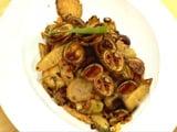 Stir Fried Kantola and Tindli
