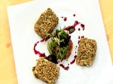 Nut And Seed Crusted Cottage Cheese