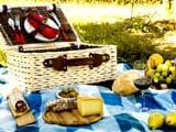Popping Out of the Basket! Picnic in Italy