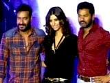 Video : Ajay Devgn, Prabhu Deva Launch New Action Jackson Song Sans Sonakshi