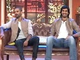 Shikhar Dhawan, Ishant Sharma in a Different Avatar
