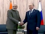 PM Modi Meets President Putin As Both Nations Seek to Take Ties to Next Level