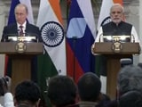 Video : Russia Remains Our Top Defence Partner, Says PM Modi After Meeting President Putin