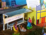 Family Makes Christmas Crib That Brings Bethlehem to Chennai's Mylapore