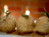 Video : Risotto Balls with Pumpkin