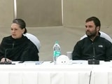 Video : At Congress Brainstorming Meet, Sonia Gandhi Targets PM Modi