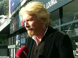 Video : Definitely Willing to Bet on India: Richard Branson to NDTV at Davos