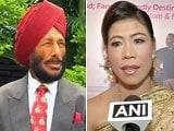 Video : Milkha Singh, Mary Kom Thank Obama for his Support