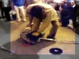 Video : Railway Police Caught on Camera Thrashing Physically Challenged Man At Howrah Station
