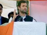 Videos : मोदी जी ने 10 लाख का सूट पहना, आपके खाते में 15 लाख आए क्या : राहुल गांधी