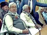 बिहार में नीतीश समर्थक 20 मंत्रियों ने दिया इस्तीफ़ा