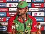 ICC World Cup: Mashrafe Mortaza Laments Missed Chances Against Sri Lanka