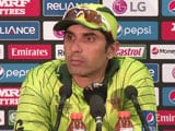 After World Cup Exit, Misbah-ul-Haq Admits Pakistan Not International Class