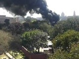 Video: Fire at Parliament Premises: Eyewitness Video