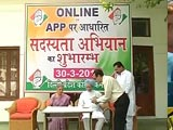 Video : As BJP's Numbers Swell, Congress Launches Online Search For New Members