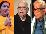 Video : LK Advani, Others Asked to Respond to Plea Seeking Conspiracy Charge in Babri Case