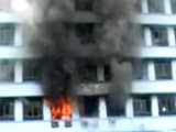 Video : Large Fire in Kolkata at Building Which Has Government Offices
