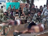 Video : Bodies of 7 Jawans Retrieved From Site of Naxal Attack in Chhattisgarh