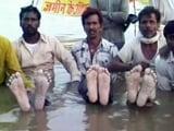 Video : Ousted for Narmada's Omkareshwar Dam, Farmers on Jalsatyagraha in Madhya Pradesh