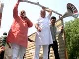 Videos : जीतेंद्र तोमर फर्जी डिग्री मामले को लेकर बीजेपी ने किया विरोध-प्रदर्शन