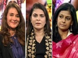 Video : The NDTV Dialogues: When Women Set the Agenda