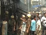 Video : Major Fire at the Fish Bazaar in Kolkata's New Market