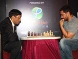 <i>Shatranj Ke Khiladi</i>: Aamir Khan vs Viswanathan Anand