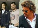 Video : Aamir Visits Sonam on Sets of Neerja, Hrithik Wraps Up Gujarat Sched of Mohenjo Daro