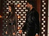 Ash, Abhishek Attend Ambanis Party for Mumbai Indians
