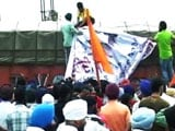 Video : Sikh Protesters Clash With Police in Jammu, One Killed