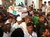 Manipur Martyr Given Last Rites in Noida, Last Respects Paid to Others in Jammu